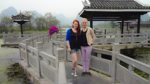 Me and my friend Vanessa in Yangshuo