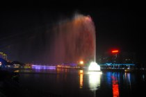Asia's tallest water fountain