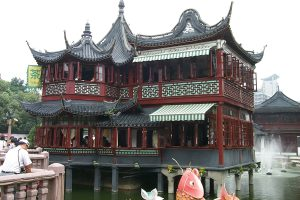 Shanghai Huxinting Tea House, photo credit Wikipedia