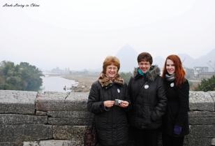 My grandma, mom and me near Guilin 2013